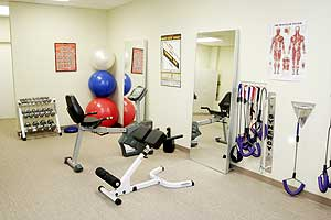 Exercise Room and Equipment