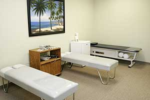 Our state-of-the-art therapy room.